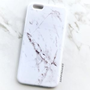 Accessories - NEW iphone 6 Plus/6s Plus White Marble Soft Case